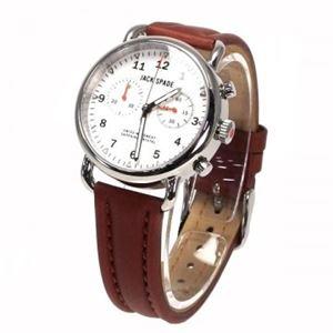 JACK SPADE(ジャックスペード) 時計 JSWURU0114 シルバー(ケース) ホワイト(文字盤) h01