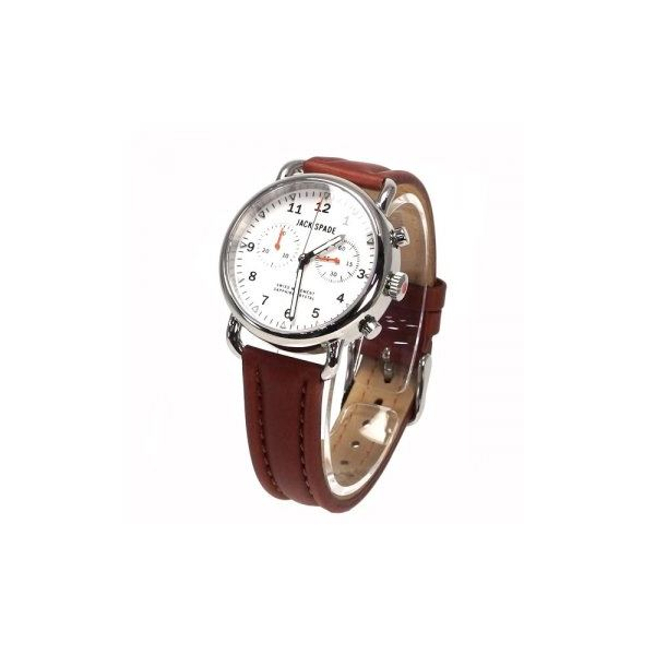 JACK SPADE(ジャックスペード) 時計 JSWURU0114 シルバー(ケース) ホワイト(文字盤)f00