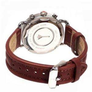 JACK SPADE(ジャックスペード) 時計 JSWURU0114 シルバー(ケース) ホワイト(文字盤) h02