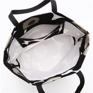 marimekko(マリメッコ) トートバッグ 43461 30 WHITE/BLACK h03