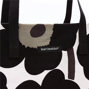 marimekko(マリメッコ) トートバッグ 43461 30 WHITE/BLACK f04