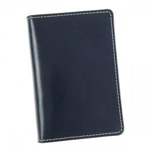 Whitehouseco(ホワイトハウスコックス) カードケース S7412 NAVY h01