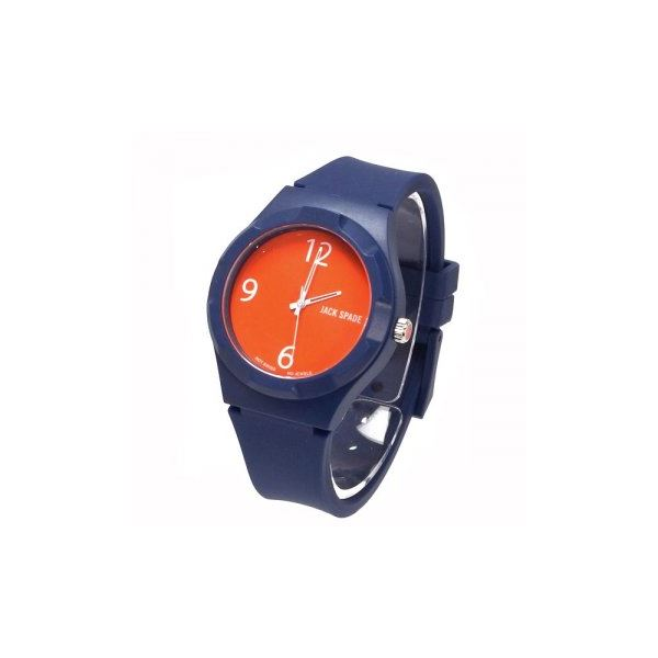 JACK SPADE(ジャックスペード) 時計 JSWURU0003 ブルー(ケース) オレンジ(文字盤)f00