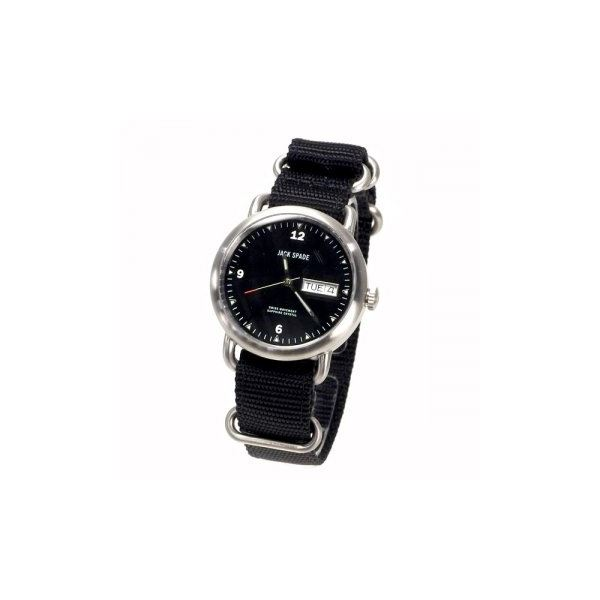 JACK SPADE(ジャックスペード) 時計 JSWURU0055 シルバー(ケース) ブラック(文字盤)f00