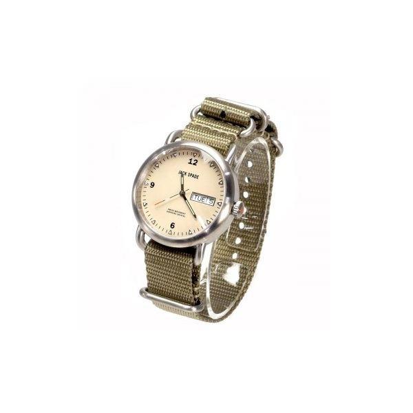 JACK SPADE(ジャックスペード) 時計 JSWURU0056 シルバー(ケース) アイボリー(文字盤)f00