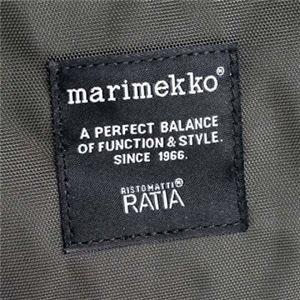 marimekko(マリメッコ) ナナメガケバッグ 26991 900 COAL f05