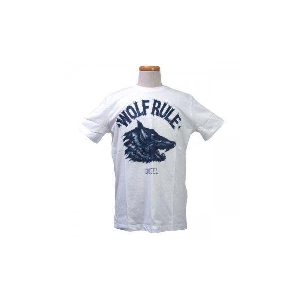 DIESEL(ディーゼル) メンズTシャツ 00SPW3 100f00
