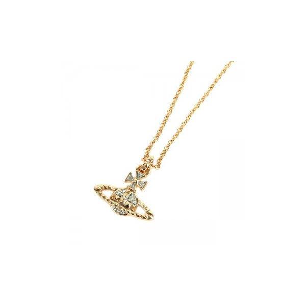 Vivienne Westwood(ヴィヴィアンウエストウッド) ペンダント/ネックレス MT12628/4 CRYSTAL/PINK GOLD/RHODIUMf00