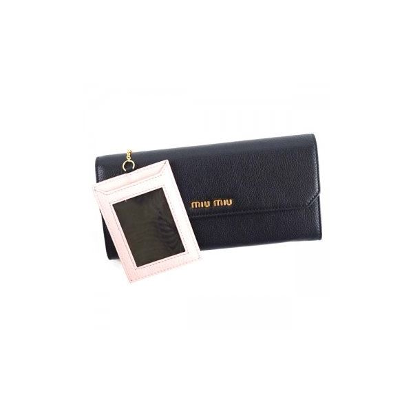 MIUMIU(ミュウミュウ) 長財布 5MH379 F0002 NEROf00