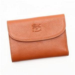 IL BISONTE(イルビゾンテ) 三つ折り財布(小銭入れ付) C0972 145 CARAMEL h01