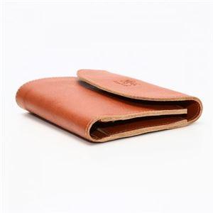 IL BISONTE(イルビゾンテ) 三つ折り財布(小銭入れ付) C0972 145 CARAMEL h02
