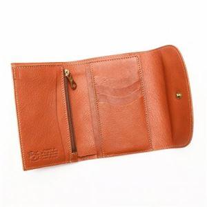 IL BISONTE(イルビゾンテ) 三つ折り財布(小銭入れ付) C0972 145 CARAMEL h03