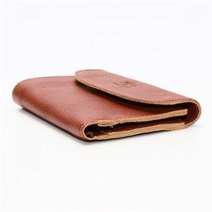 IL BISONTE(イルビゾンテ) 三つ折り財布(小銭入れ付) C0972 214 COGNAC h02