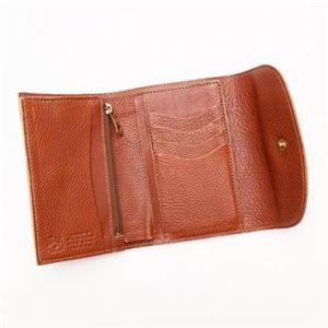 IL BISONTE(イルビゾンテ) 三つ折り財布(小銭入れ付) C0972 214 COGNAC h03