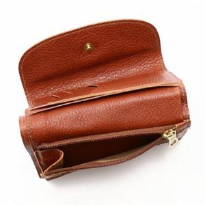 IL BISONTE(イルビゾンテ) 三つ折り財布(小銭入れ付) C0972 214 COGNAC f04