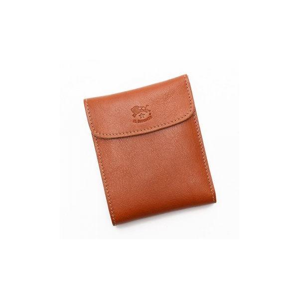 IL BISONTE(イルビゾンテ) 三つ折り財布(小銭入れ付) C0976 145 CARAMELf00