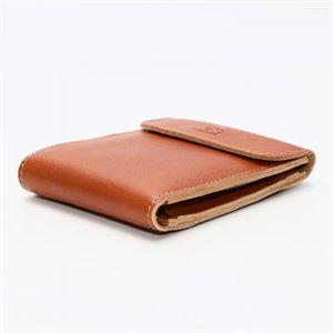 IL BISONTE(イルビゾンテ) 三つ折り財布(小銭入れ付) C0976 145 CARAMEL h02