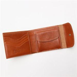 IL BISONTE(イルビゾンテ) 三つ折り財布(小銭入れ付) C0976 145 CARAMEL h03
