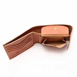IL BISONTE(イルビゾンテ) 三つ折り財布(小銭入れ付) C0976 145 CARAMEL f04