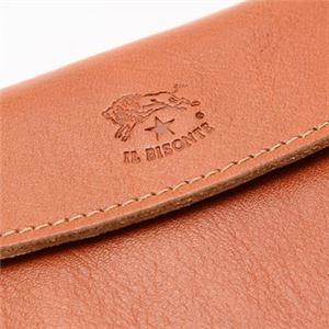 IL BISONTE(イルビゾンテ) 三つ折り財布(小銭入れ付) C0976 145 CARAMEL f05