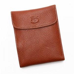 IL BISONTE(イルビゾンテ) 三つ折り財布(小銭入れ付) C0976 214 COGNAC h01