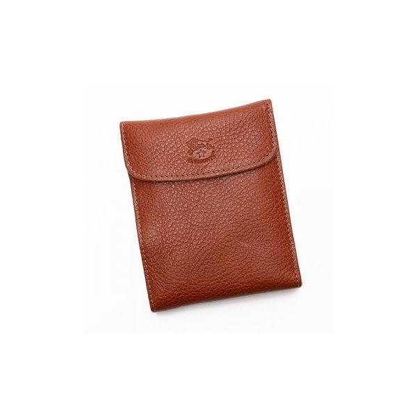 IL BISONTE(イルビゾンテ) 三つ折り財布(小銭入れ付) C0976 214 COGNACf00
