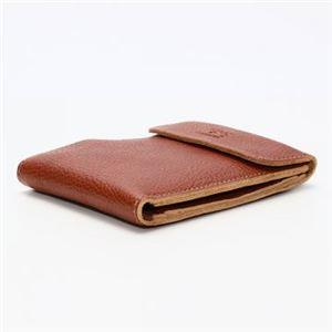 IL BISONTE(イルビゾンテ) 三つ折り財布(小銭入れ付) C0976 214 COGNAC h02