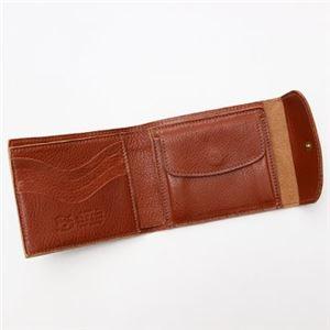 IL BISONTE(イルビゾンテ) 三つ折り財布(小銭入れ付) C0976 214 COGNAC h03