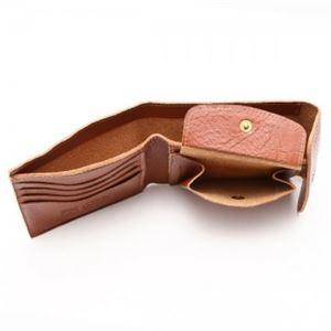 IL BISONTE(イルビゾンテ) 三つ折り財布(小銭入れ付) C0976 214 COGNAC f04