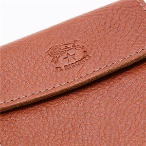 IL BISONTE(イルビゾンテ) 三つ折り財布(小銭入れ付) C0976 214 COGNAC f05