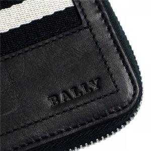 Bally(バリー) 小銭入れ TEBIOT 290 BLACK BLACK/WHITE h03