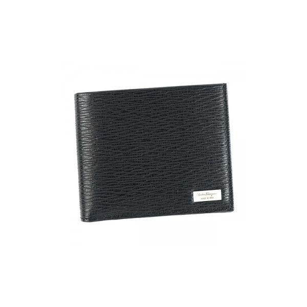Ferragamo(フェラガモ) 二つ折り財布(小銭入れ付) 669964 636155 NEROf00