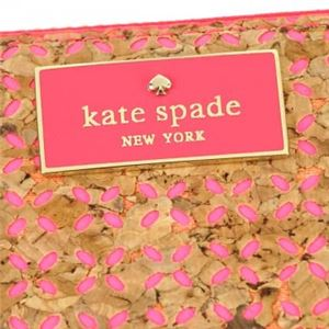 KATE SPADE(ケイトスペード) 長財布 PWRU5038 982 NATURAL/FLO GERANIUM f05