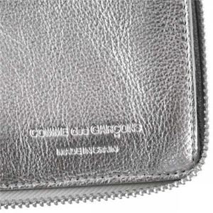 COMME des GARCONS(コムデギャルソン) 長財布 SA0110 G SILVER SILVER h03
