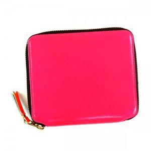 COMME des GARCONS(コムデギャルソン) 二つ折り財布(小銭入れ付) SA2100SF PINK PINK