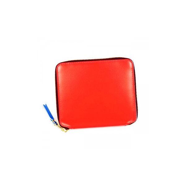 COMME des GARCONS(コムデギャルソン) 二つ折り財布(小銭入れ付) SA2100SF ORANGEf00