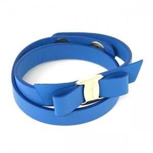 Ferragamo(フェラガモ) ブレスレット 342254 647817 BLUE INDIEN/ORO CH
