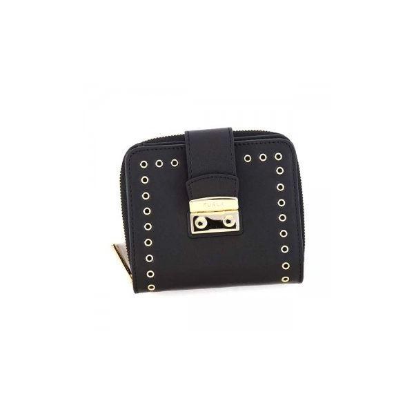FURLA(フルラ) 二つ折り財布(小銭入れ付) PQ43 O60 ONYXf00