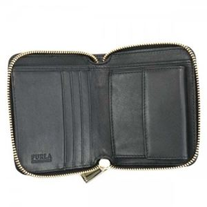 FURLA(フルラ) 二つ折り財布(小銭入れ付) PN51 CGO COLOR GOLD+ONYX h03