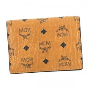 MCM(エムシーエム) カードケース MXC6AVI20 CO001 COGNAC h01