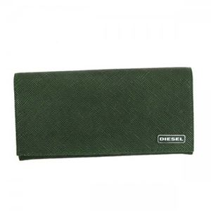 DIESEL(ディーゼル) 長財布 X03340 MILLITARY GREEN/BLACK P0517 h01