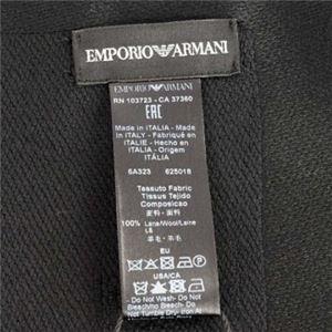 EMPORIO ARMANI(エンポリオアルマーニ) マフラー  625018 20 NERO