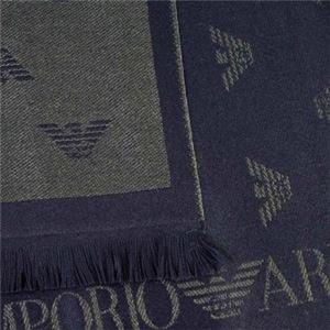 EMPORIO ARMANI(エンポリオアルマーニ) マフラー  625018 637 BLU MARINE