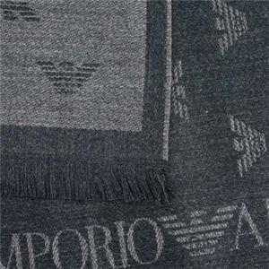 EMPORIO ARMANI(エンポリオアルマーニ) マフラー 625018 41710 ARDESIA MELANGE h02