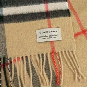 Burberry(バーバリー) マフラー GIANT ICON 168 CORE CASHMERE CAMEL h02