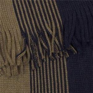 Calvin Klein(カルバンクライン) マフラー 77226 NNV NAVY/SAGE h02