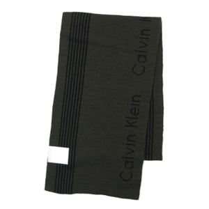 Calvin Klein(カルバンクライン) マフラー 77232 LOD LODEN/BLAK h01