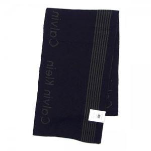 Calvin Klein(カルバンクライン) マフラー 77232 LOD LODEN/BLAK h02