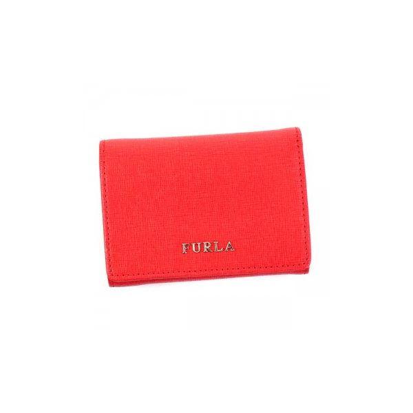 Furla(フルラ) 三つ折り財布(小銭入れ付) PN75 RS1 ROSSO 16Wf00