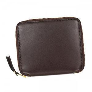 COMME des GARCONS(コムデギャルソン) 二つ折り財布(小銭入れ付) SA2100 BROWN h01